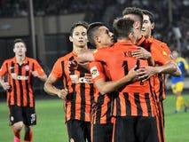 Spelers van FC Shakhtar_18 Stock Afbeeldingen