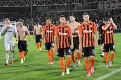 Spelers van FC Shakhtar_20 Stock Fotografie