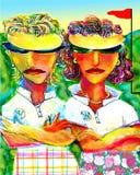 Spelgezichten Royalty-vrije Stock Afbeelding