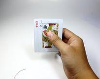 Spelkaart Royalty-vrije Stock Afbeeldingen