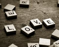 Spell Out Your Feelings Stock Images