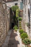 Spello, Перудж, средневековый город Стоковое фото RF