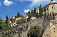Spello. Beautiful medieval resort, europe italy royalty free stock photography