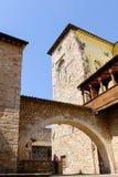 Spello medeltida by i Italien Royaltyfria Bilder