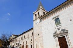Spello medeltida by i Italien Royaltyfri Foto