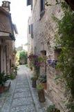 Spello, old street Stock Image
