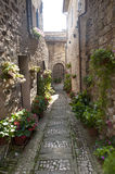 Spello, old street Stock Images