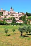 Spello umbria, Italien Arkivbilder