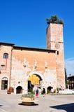 Spello umbria, Italien Arkivbild