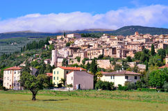 Spello, umbria, Italy Stock Photos