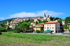 Spello, Umbria, Włochy Obraz Stock