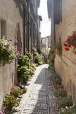 Spello, vieille rue image libre de droits