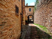 Spello, vila italiana fantástica foto de stock royalty free