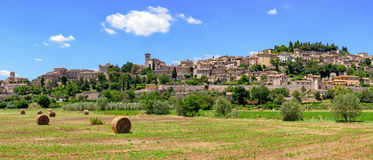 Spello & x28;Umbria Italy& x29; Royalty Free Stock Photography