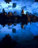 Spelonca a lamella della scanalatura, Guilin, Cina Fotografia Stock