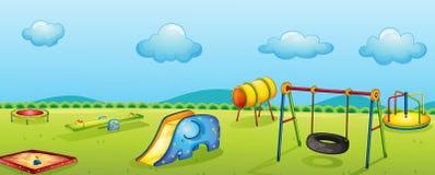 Spelpark royalty-vrije illustratie