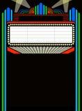spelrum för eps-stort festtältfilm vektor illustrationer