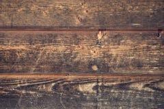 spelrum med lampa Brun grungetextur av det wood brädet Arkivbilder
