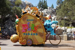 Spelrum ståtar på Disneyland Arkivfoto