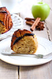 Spelt apple ring cake Stock Images