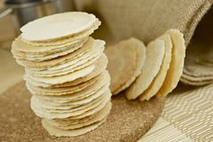 Spelt Flour Cookies Stock Photos