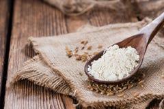 Spelt Flour Stock Photo