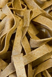 Spelt noodles closeup Royalty Free Stock Photos