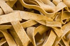 Spelt noodles closeup Stock Photo