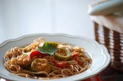 Spelt Pasta Dish Royalty Free Stock Image