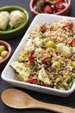 Spelt salad, insalata di farro, italian cuisine Royalty Free Stock Photography