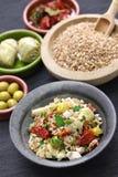 Spelt salad, insalata di farro, italian cuisine Royalty Free Stock Images