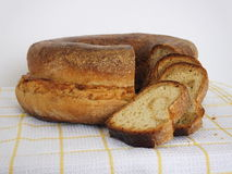 Spelt sweet cake with tarragon Royalty Free Stock Photography