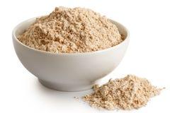 Spelt whole grain flour royalty free stock photography