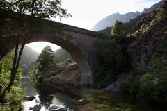 Spelunca river valley Stock Photos