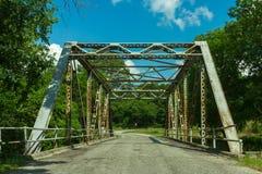Spencer Bridge von Route 66 Lizenzfreie Stockfotos