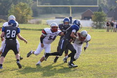 Spencer County vs Odham Patriots Royalty Free Stock Images