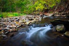 Spencer Gorge Creek. Waterfall Cascade Stock Image