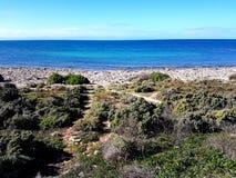 Spencer Gulf-Ansicht am Punkt niedrig Stockbilder