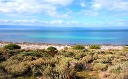 Spencer Gulf-Ansicht am Punkt niedrig Stockbild