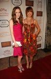 Spencer Locke und Chelsea Locke am Mondschein u. an Magnolien, zum von Lupus LA, Mary Norton, Los Angeles, CA 09-25-07 zu fördern Lizenzfreies Stockbild