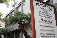 Spencer Plaza lizenzfreies stockfoto