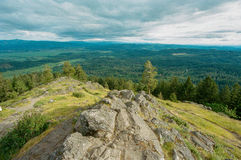 SpencersButte Eugene Oregon Summit Royaltyfri Foto