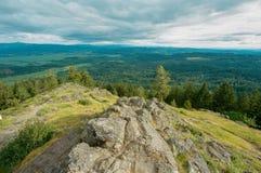 SpencersButte Eugene Oregon Summit Royaltyfri Foto