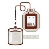 Spenden Sie Blut Lizenzfreies Stockbild