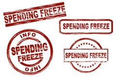 Spending freeze Stock Photo