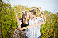 Spending the Future Together Stock Photography