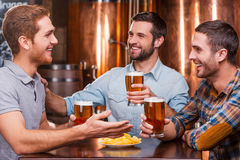 Spending great time with friends. Stock Photos