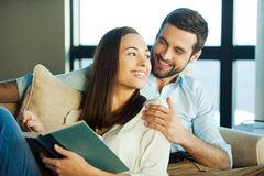 Spending great time together. Royalty Free Stock Images