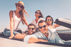 Spending great time together. royalty free stock photography