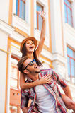 Spending great time together. Royalty Free Stock Photo
